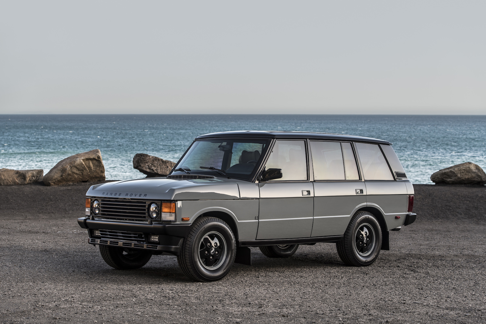 A 430 HP Corvette-Engined Range Rover Classic