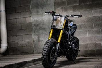 Custom Yamaha FZ-09 Motorcycle