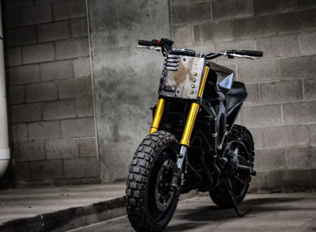 Custom Yamaha FZ-09 Motorcycle