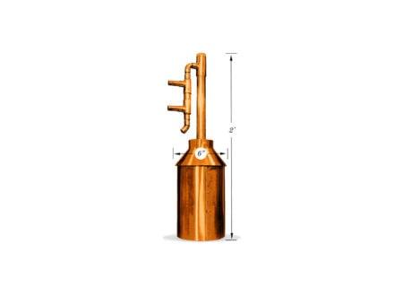 Gallon Copper Moonshine Whiskey Gin Still Kit