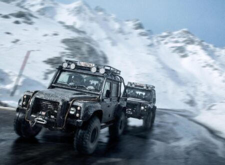 James Bond Spectre Land Rover Defender SVX Main