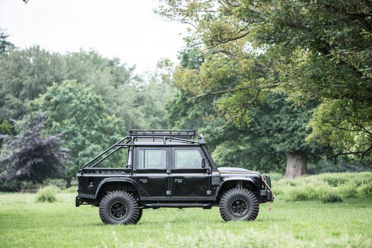 "James Bond Spectre Land Rover Defender SVX 5 740x494 - The James Bond ""Spectre"" Land Rover Defender SVX"