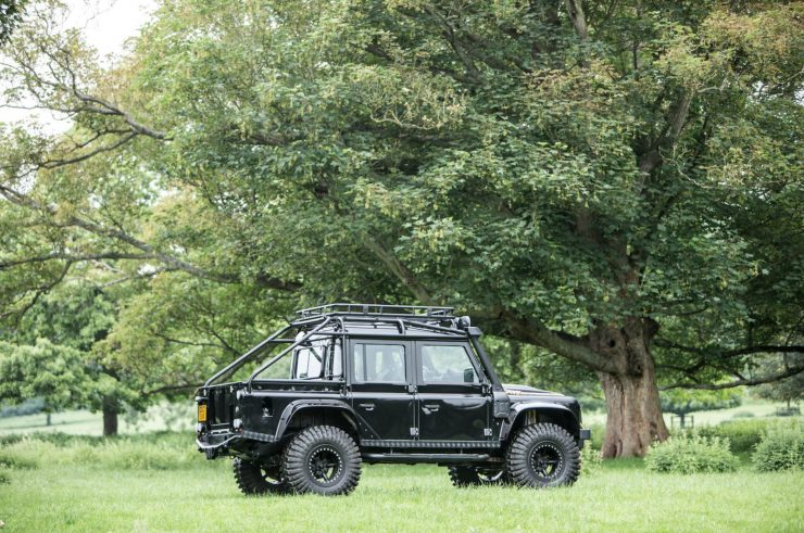 "James Bond Spectre Land Rover Defender SVX 6 740x491 - The James Bond ""Spectre"" Land Rover Defender SVX"