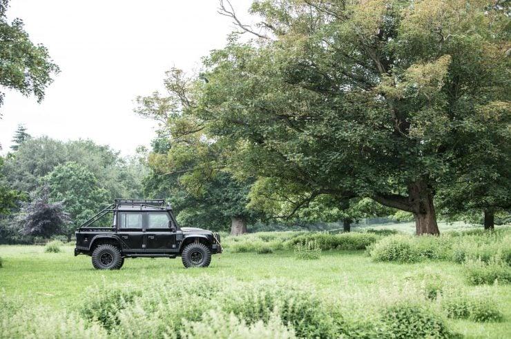 "James Bond Spectre Land Rover Defender SVX 7 740x492 - The James Bond ""Spectre"" Land Rover Defender SVX"