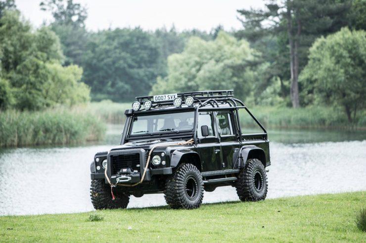 "James Bond Spectre Land Rover Defender SVX 8 740x493 - The James Bond ""Spectre"" Land Rover Defender SVX"