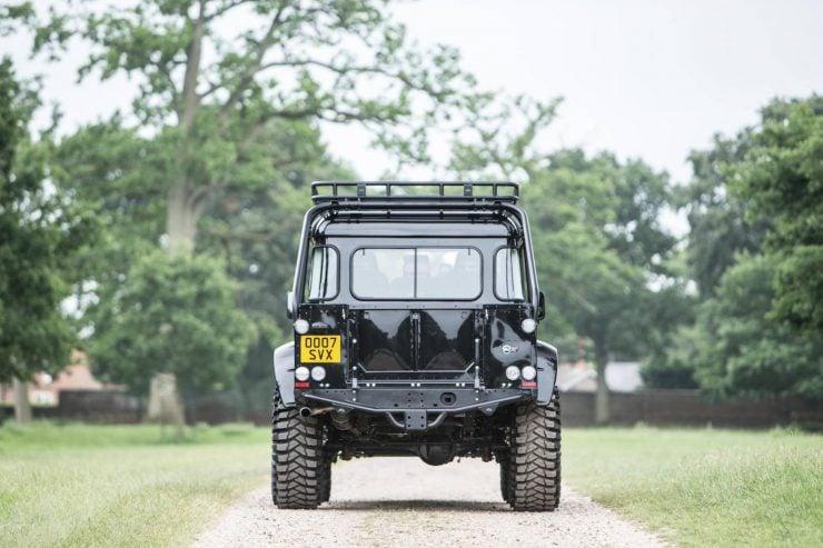 "James Bond Spectre Land Rover Defender SVX Interior 4 740x493 - The James Bond ""Spectre"" Land Rover Defender SVX"