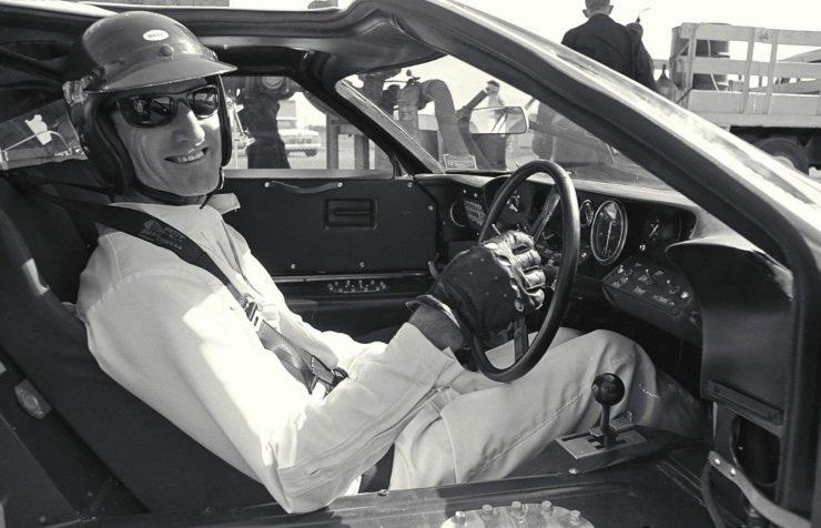 Ken Miles Ford GT40 Le Mans