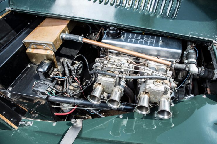 Morgan Plus 4 Carburettors