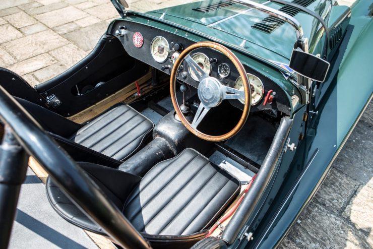 Morgan Plus 4 Cockpit