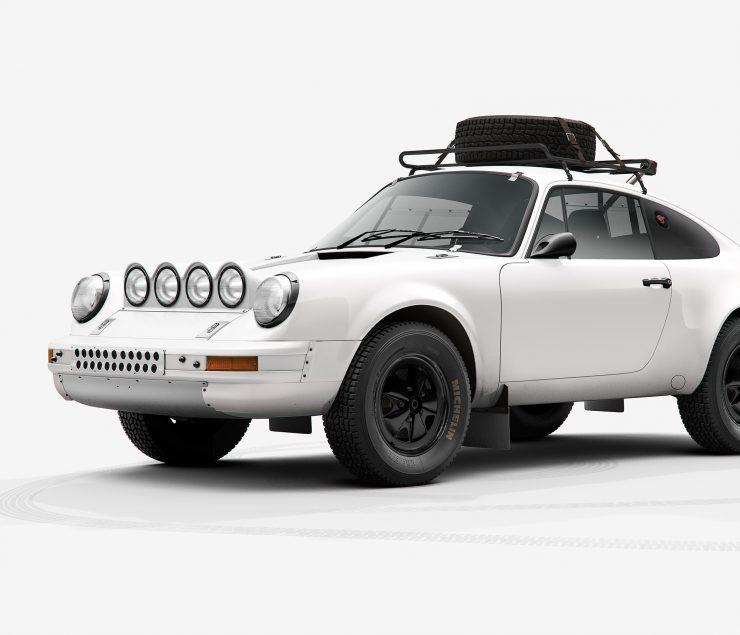Porsche 911 Rally Detail