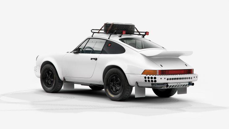 Porsche 911 Rally Rear