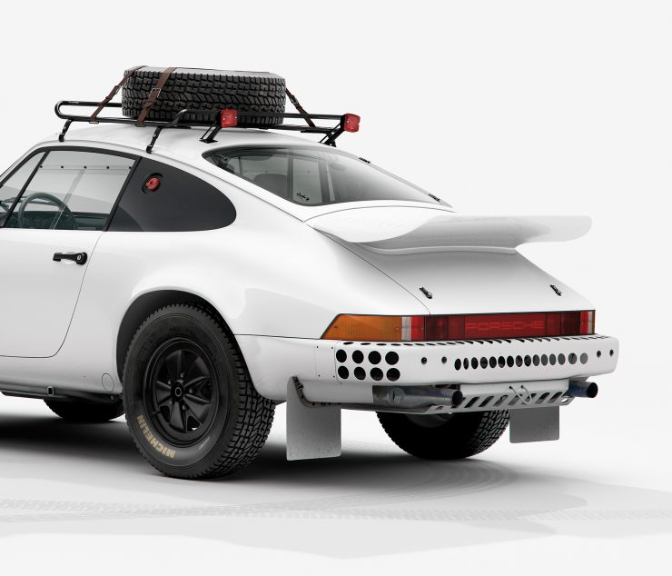 Porsche 911 Rally Rear Detail