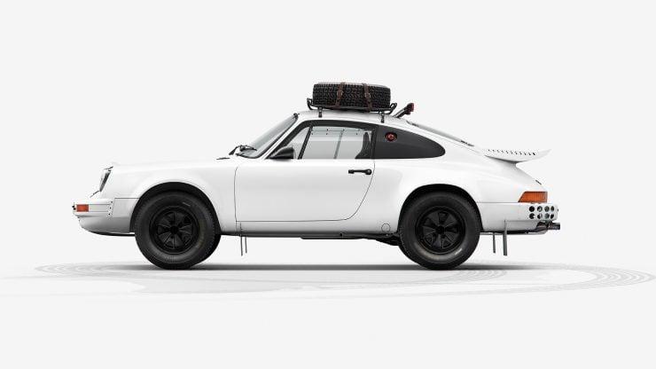Porsche 911 Rally Side