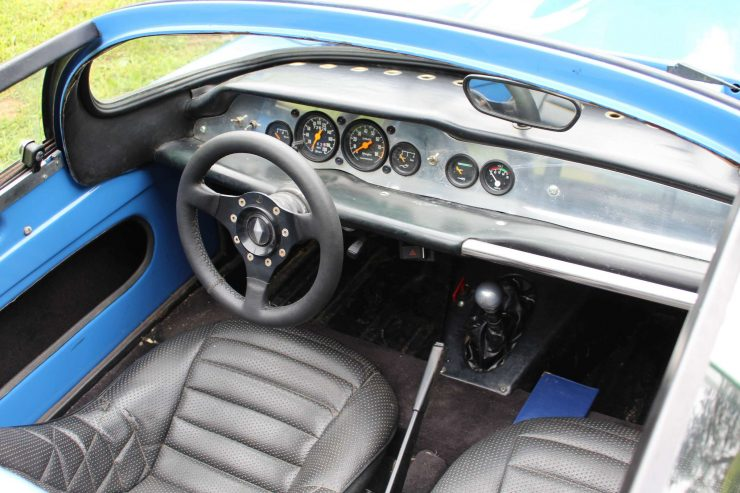 Sovam 1100 VS Car Interior