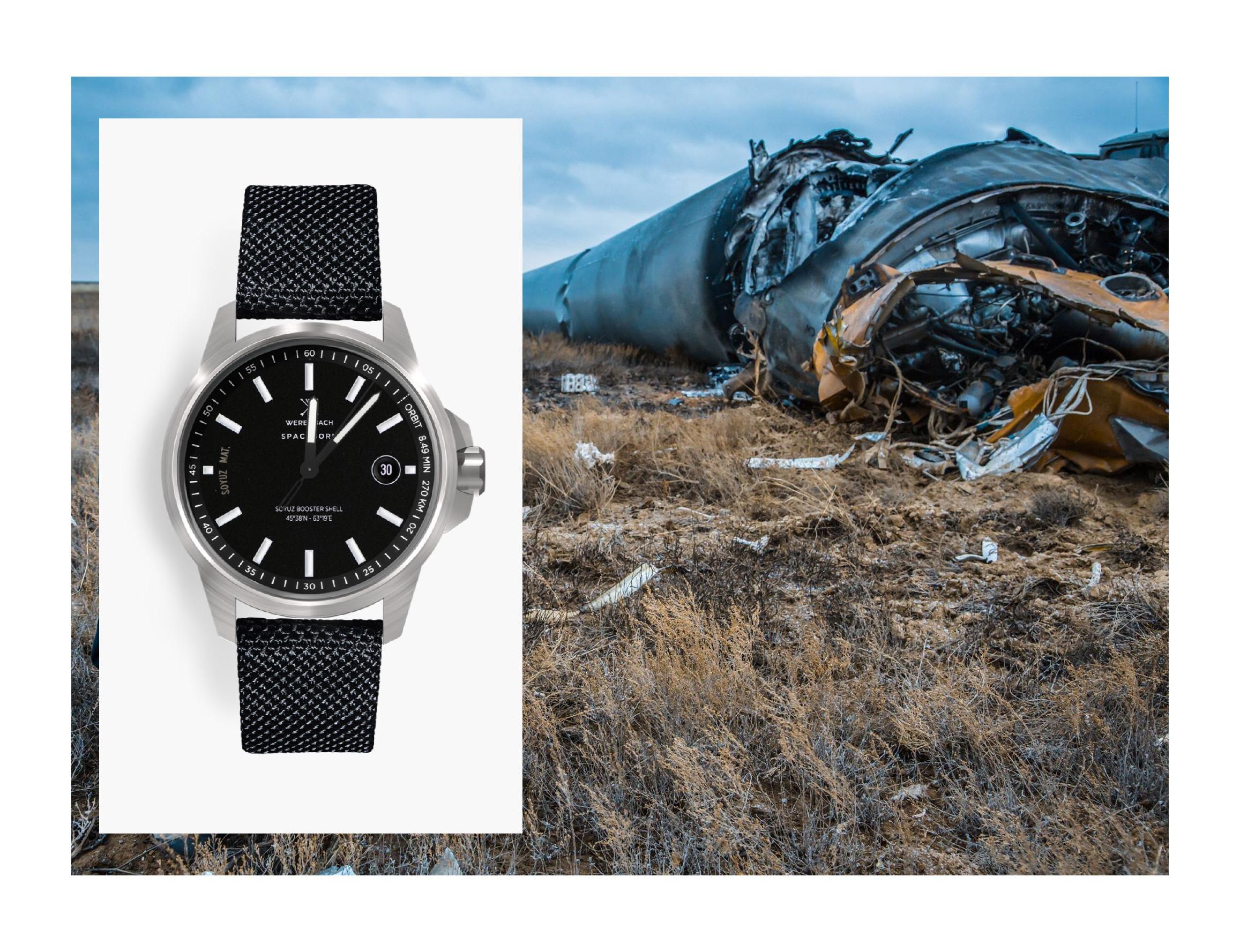 Soyuz Rocket Watch Werenbach