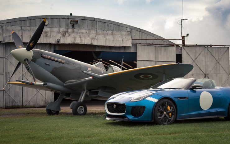 Spitfire And Jaguar