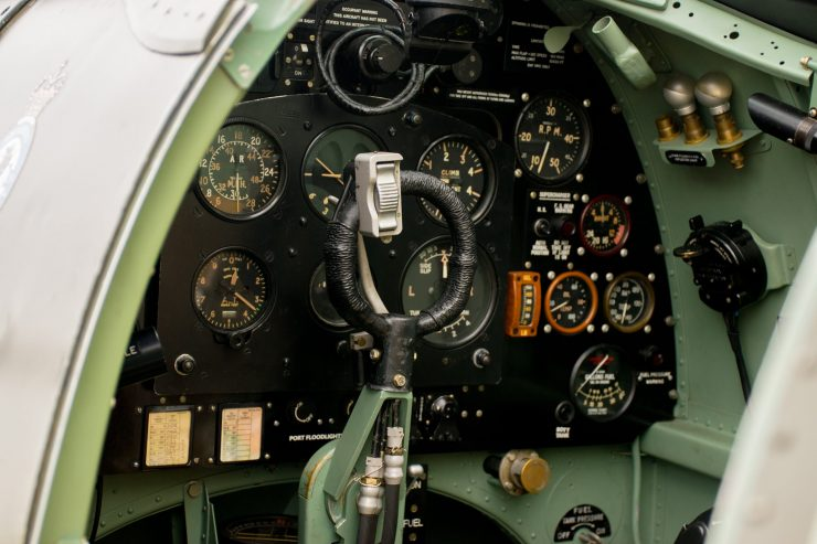 Spitfire Cockpit Controls