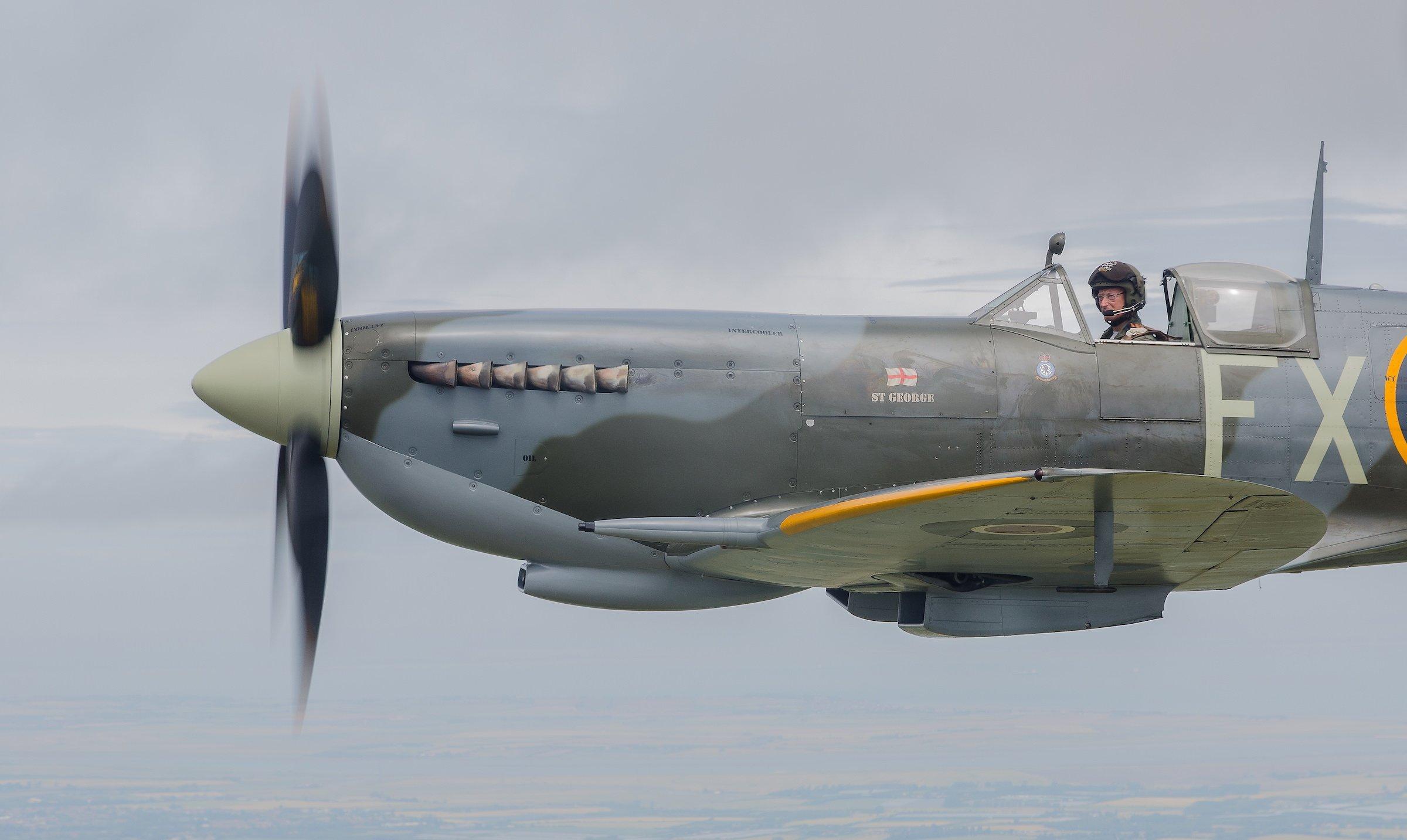 Spitfire Merlin Engine