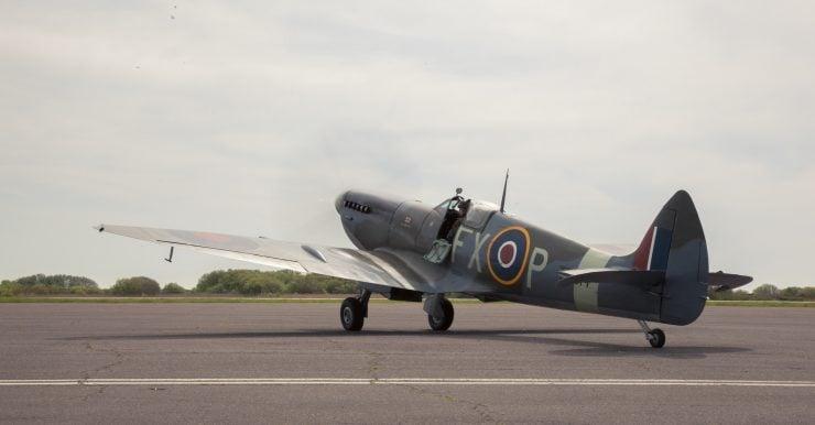 Spitfire Rear Side