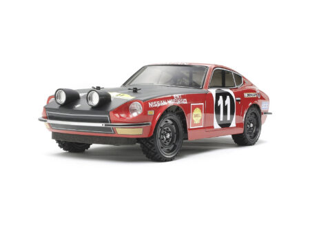Tamiya 1:10 Scale Remote Control Datsun 240Z Rally Version