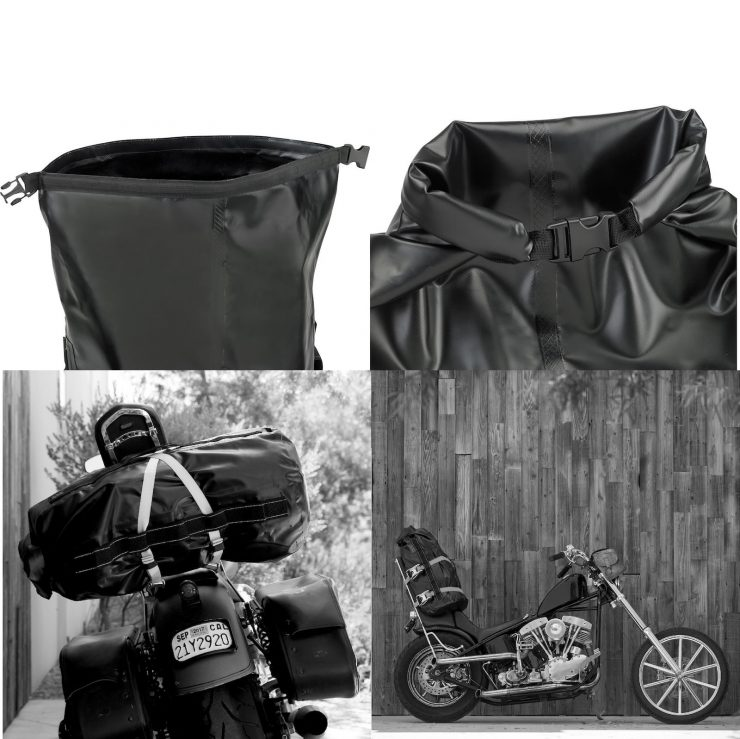 The Biltwell EXFIL-115 Waterproof Motorcycle Bag