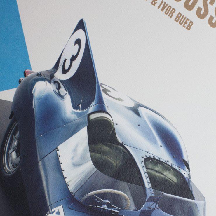 The Le Mans Winning Ecurie Ecosse Jaguar D-Type - Automobilist Print Fin