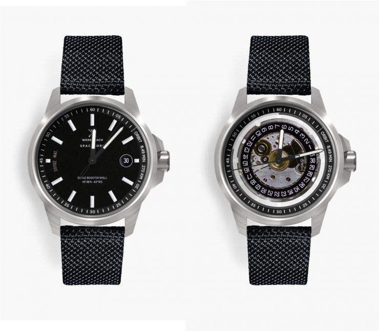 Werenbach Model 1 - A Watch Made From A Soyuz Rocket Booster
