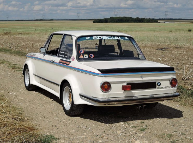 BMW 2002 Tii Rear