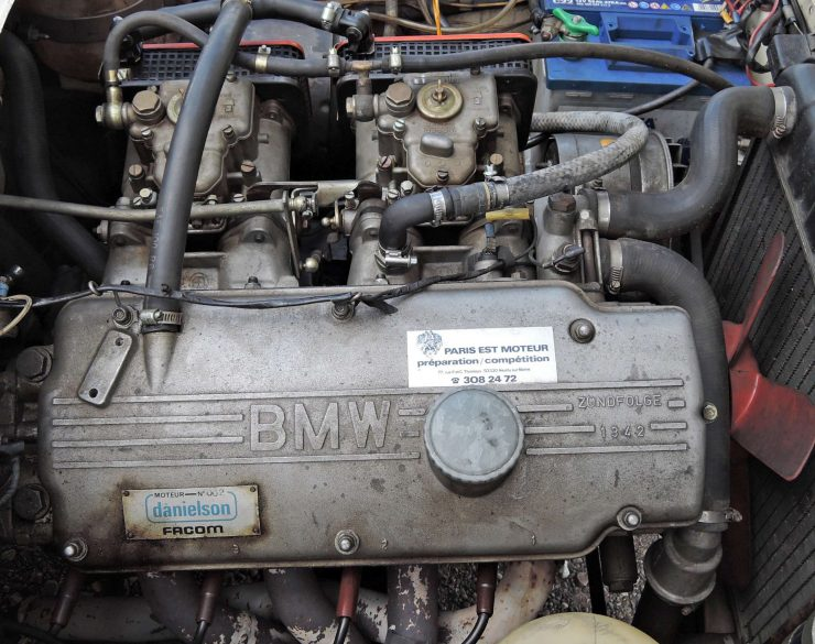 BMW 2002 Tii Engine