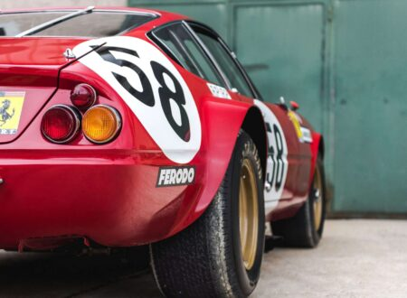 Ferrari 365 GTB/4 Daytona Rear Low