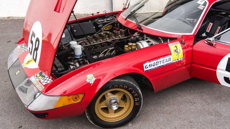 Ferrari 365 GTB/4 Daytona Engine Bay