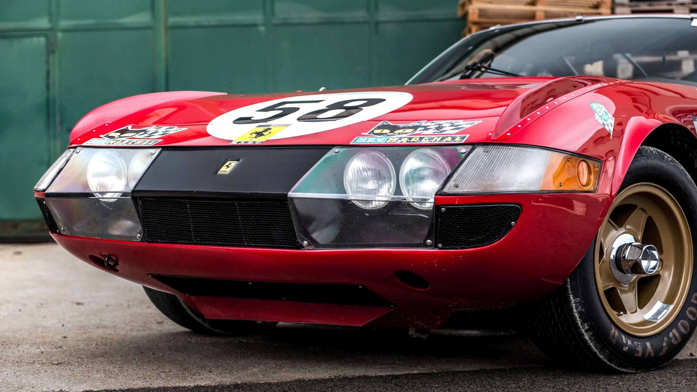FERRARI 365 GTB4 COMPETIZIONE N.22 1A SERIE 1977 1:24 AUTO BURAGO