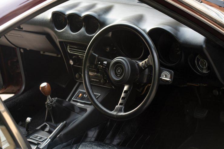 Nissan Fairlady 240Z Interior