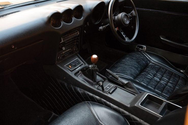Nissan Fairlady 240ZG Interior