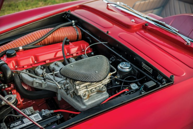 Plymouth Asimmetrica Roadster Engine