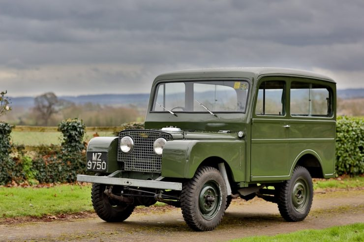 Land Rover Series I Tickford estate car