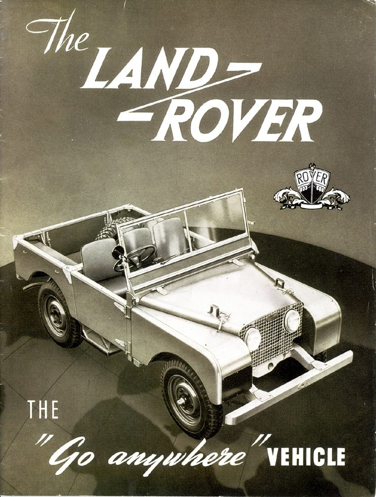 Land Rover Series I advertisement