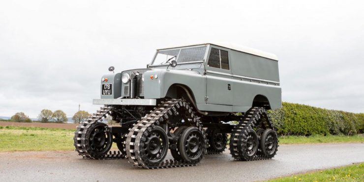 Land Rover Series II Cuthbertson