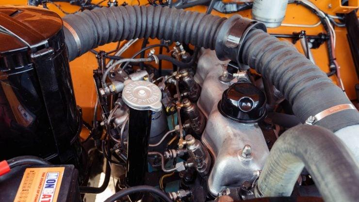 Land Rover Series IIa diesel engine