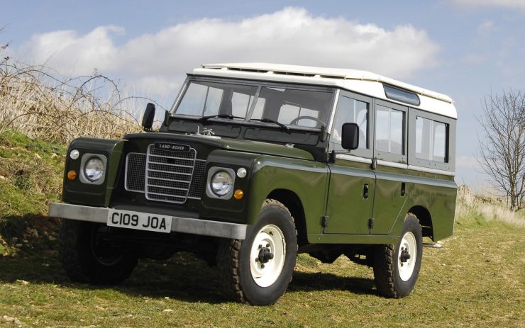 "Land Rover Series III 109"" Station Wagon"
