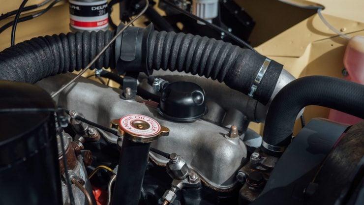 Land Rover 2,286cc four cylinder diesel engine