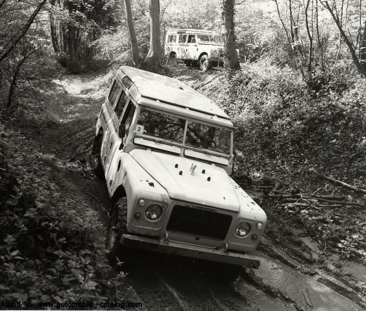 Land Rover Series III V8 Stage One