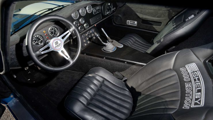 Shelby Daytona cockpit