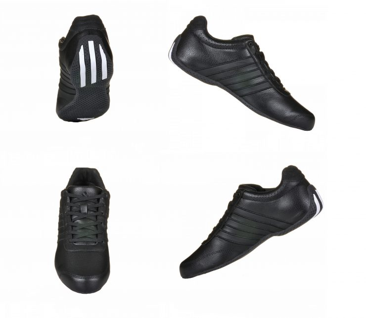 Adidas TrackStar XLT Performance Driving Shoes Collage