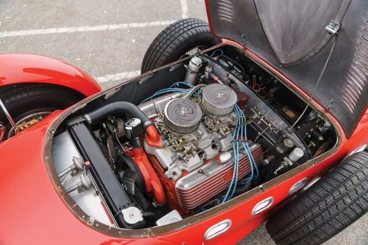 Allard J2 X V8 Engine 740x494 - The Allard J2X - A Rare, Unusual, and Highly Influential British Sports Car