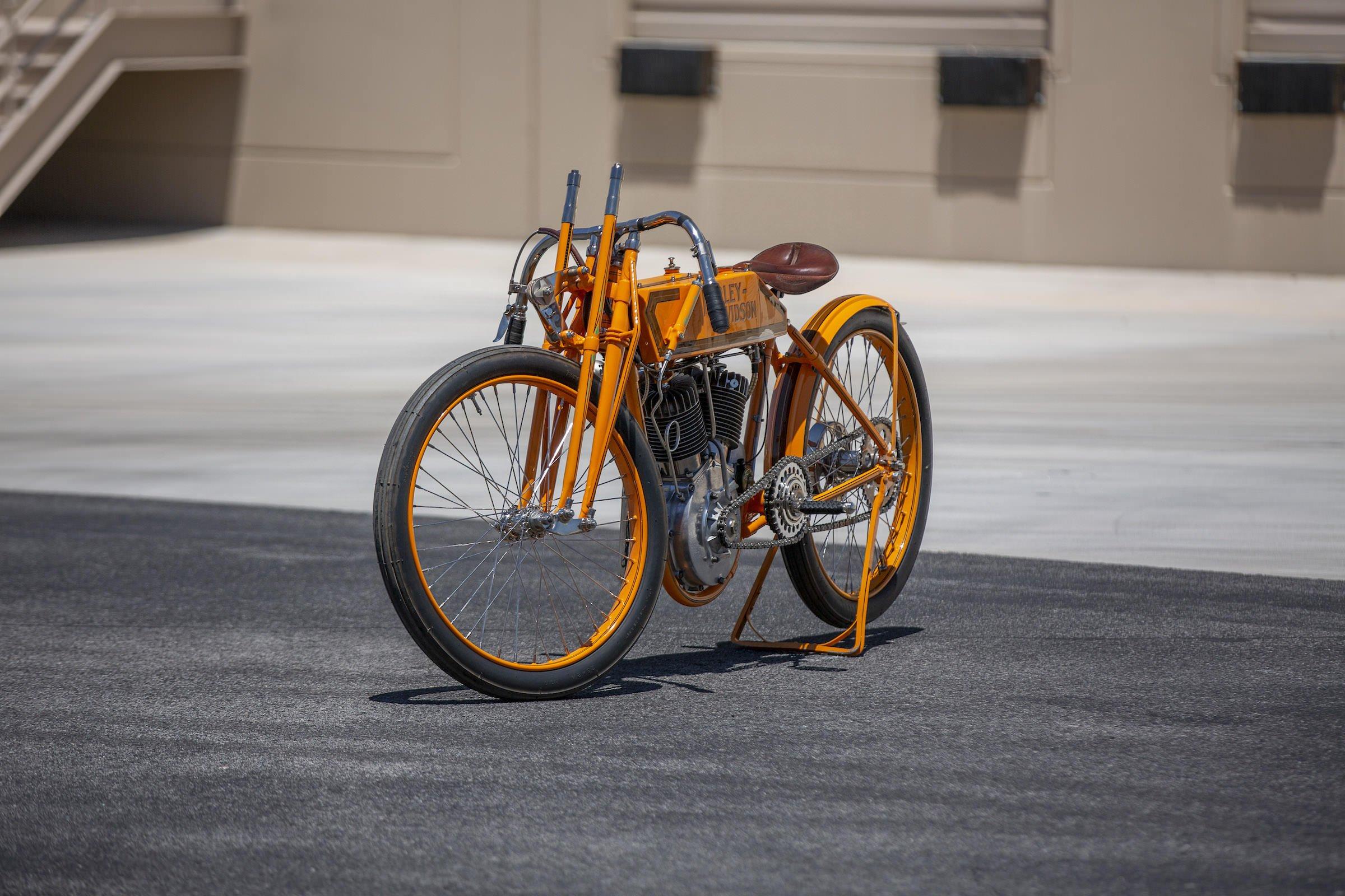 Harley Davidson: Harley-Davidson's First Purpose-Built V-Twin Racer