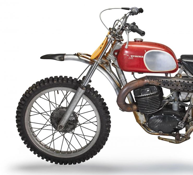 Husqvarna 400 Cross Front 2