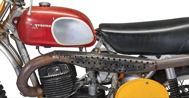 Husqvarna 400 Cross Fuel Tank