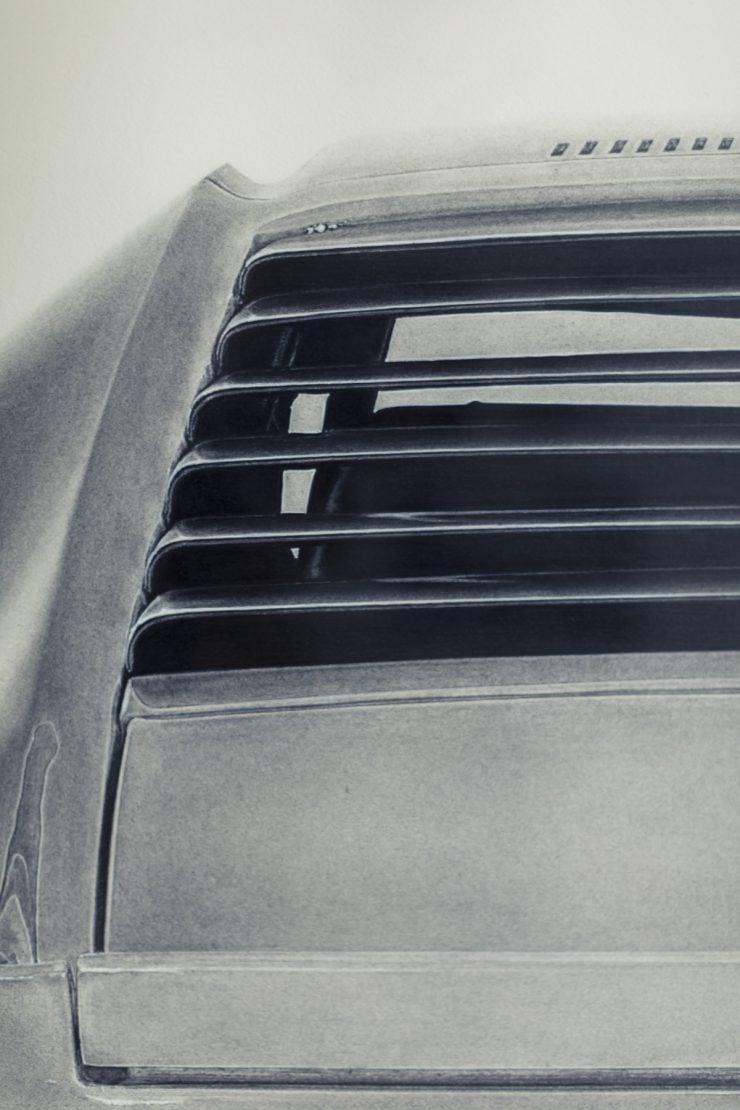 Kirsten Williamson Lamborghini Miura 2