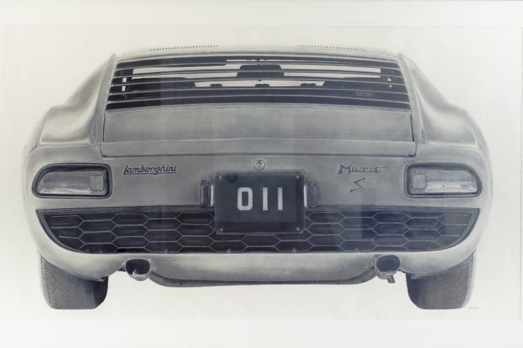 Kirsten Williamson Lamborghini Miura